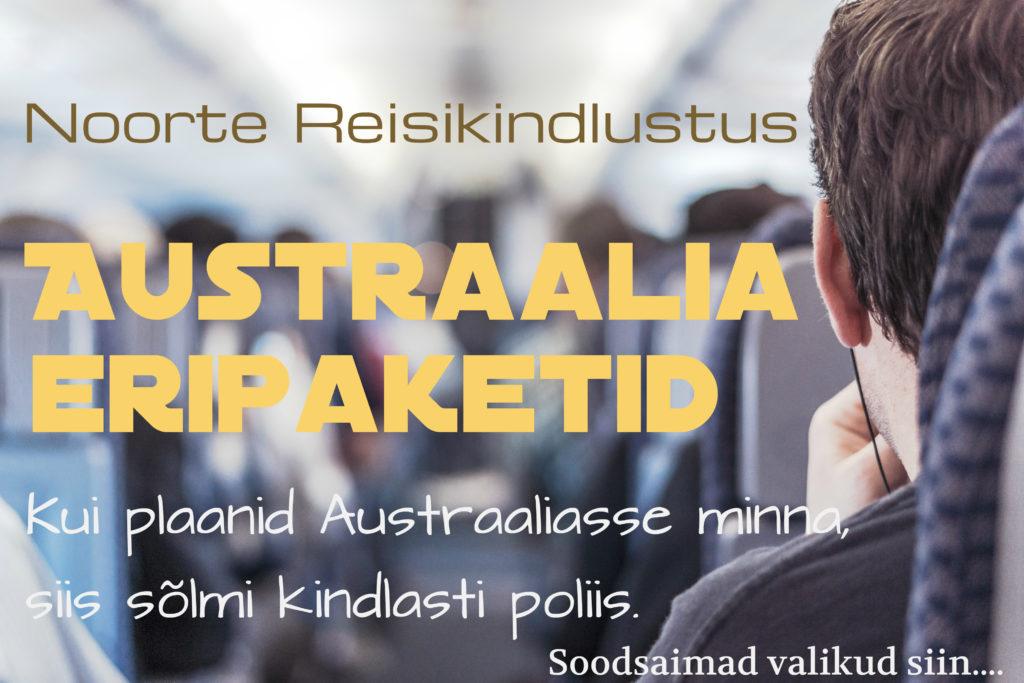 Austraalia reisikindlustus I Noortepaketid